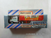 Vintage MATCHBOX 1983 Convoy CY-16 Heinz Tomato Ketchup Scania Box Truck