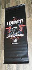 Run Disney 2017 Star Wars Dark Side Half Marathon 5'x2' 5k I Did It Expo Banner