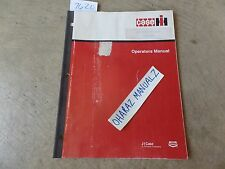 CASE 45 Baler Operator's Manual   1010110R4
