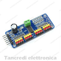 PCA9685 16 canali 12-bit PWM Driver motore Servo I2C Robot (Arduino-Compatibile)