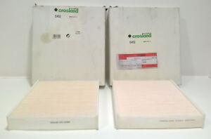 2 x CROSLAND E452 POLLEN FILTERS FORD FIESTA MK4, MK5 FORD FUSION