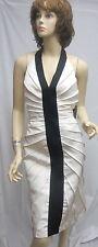 REDUX CHARLES CHANG LIMA NWT Black White DRESS 4 $1525