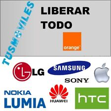 LIBERAR ORANGE NOKIA SONY HUAWEI APPLE SAMSUNG LG HTC TODO ORANGE ALCATEL NO