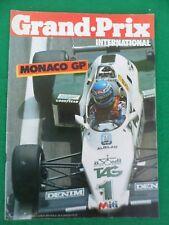 Grand Prix international - May 18th 1983 - Monaco