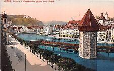 Br34403 Luzern Wasserturm gegen den Gutsch   Switzerland