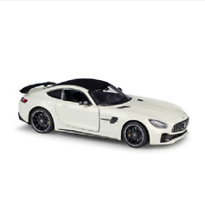Welly 1:24 Mercedes Benz AMG GT-R GTR Diecast Model Racing Car New in Box White