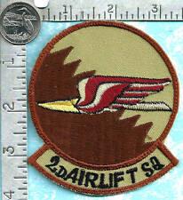 USAF Saudi made Iraqi war era patch (circa 2000's) - 2nd Airlift Squadron