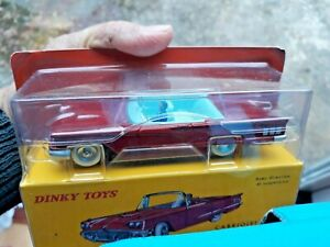 Ford Thunderbird CABRIOLET RED 1/43 scale 4in Model ATLAS Dinky 555 Boxed SEALED