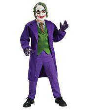 """Niños Disfraz De Batman Guasón Caballero Oscuro S2, grandes, 8-10 Años, Altura 4' 8"""" - 5'"""