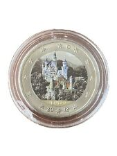 2 Euro 2012 Alemania Color Farbe