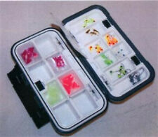 New Clam Ice Fishing Dual Tray Jig Box Med 109178