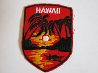 vintage  1970's Hawaii Travel Souvenir Patch