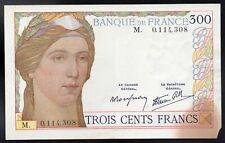 300 francs, FAY#29/1;SERAIT NEUF SANS ACCIDENT COIN INFERIEUR DROIT