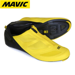 Mavic CXR Ultimate Carbon Mens Cycling Shoes w/Dial system - Yellow