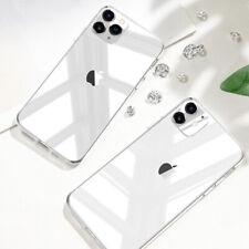Handyhülle iPhone 11/Pro/Max/XS/XR/SE2 Schutz Transparent Slim Case Durchsichtig