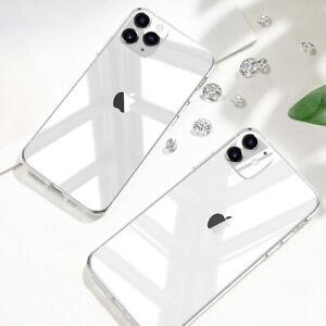 Handyhülle iPhone 11/12/13/Pro/Max/Mini/XS/XR/SE2 Schutz Transparent Slim Case