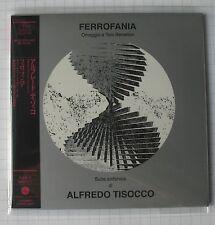 Alfredo TISOCCO-ferrofania JAPAN MINI LP CD NUOVO RAR! Poce - 1272