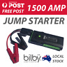 BILBY 1500A AMP Vehicle Jump Starter - USB Power Bank Torch CAR SUV 4WD AUS
