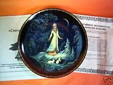 Vinogradoff Porcelain Fairy Plate