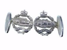 New 925 Sterling Silver ROYAL TANK REGIMENT Men's Cufflinks. Excellent quality