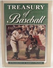 Book Treasury of Baseball A Celebration of America's Pastime HC Illus 608 p 1994