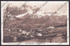 BERGAMO VILMINORE DI SCALVE 12 VILMAGGIORE Cartolina 1935