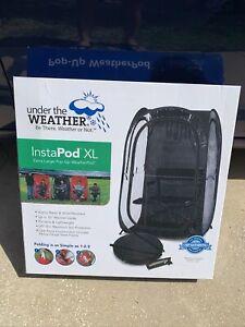 Under the Weather InstaPod Stay Warm & Dry Weather Pod, Black, XL Brand New!!