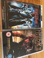 Hellboy 1 And Hellboy 2 II Golden Army UMD PSP UK Release Region Rare Bundle See