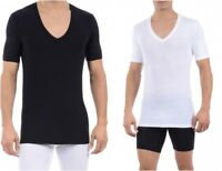 Tommy John Cool Cotton Deep V-Neck T-Shirt Mens Undershirt New Soft