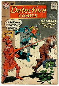 Detective Comics (1937) #271 Crimson Knight Martian Manhunter Sheldon Moldoff GD
