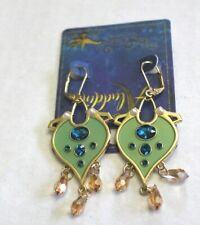 Disney Aladdin Jasmine Replica Earrings Gold Tone