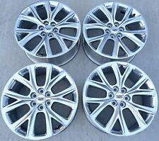Cadillac Oem Genuine Factory 20 Inch Wheels Set4 6x120 20x8 Et45 Et50 Polished