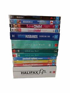 Australian Tv Series Dvd Bundle Love Child, Rafters, House Husbands, Halifax R4