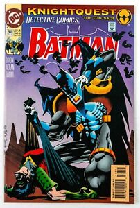 Detective Comics #668 (1993 DC) Batman: Knightquest - The Crusade! Part 2 NM