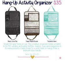 New Thirty One Hang-Up Activity Organizer - Taupe Playful Parade - Home Or Car!
