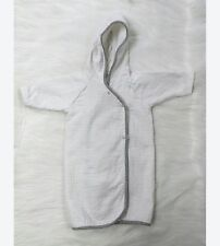 Carters Infant Newborn One Size Hooded Robe Cotton Terrycloth Boy Girl B71