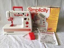 Simplicity First Fashion Lockstitcher Sewing Machine Battery Operated