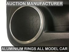 Mazda 6 Gh 2007-2012  Decorative Aluminum Door Speaker Rings 2 piecce
