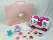 Hello Kitty Emergency Ambulance Playset w/ Large Portfolio Case Carrying Case