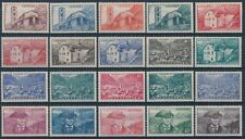 ANDORRA 1944/46 Definitive Y&T 100/118 € 46.50 Set of 20v** VF MNH