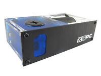 "XSPC X2O 420 Single 5.25"" Drive Bay Water Cooling Reservoir & Pump"