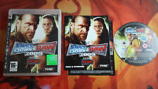SMACKDOWN SMACK DOWN VS RAW 2009 PAL ESP PLAYSTATION 3 PS3 ENVÍO 24/48H