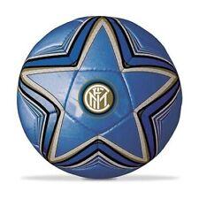 Pallone Inter Ufficiale Calcio Nero Azzurro Misura 5 Mondo