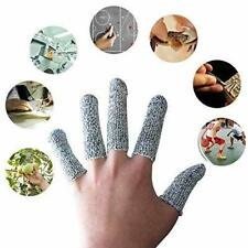 New listing Premium Finger-Thumb,Sleeves Cots-Cut Resistant Protection Glove Substitute 20Pc