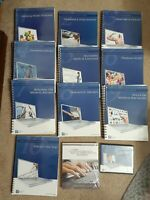 Career Step Medical Transcription 6th Edition Lot CD & Books Vol. 1- 10 Healthc