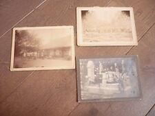3 grandes photos ORIGINALES de madagascar 1900 RARE MALGACHE