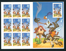 Scott # 3391.. 33 Cent...  Coyote & Road Runner...Pane With 10 Stamps