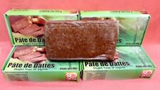 4 x 1 KG Pâte de Dattes Algérie / Tunisie Datte Maamoul Dates Végétarien
