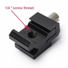Accessories Bracket Adapter Hot Shoe Flash Mount Cold Shoe 1/4 Hexagonal Screw