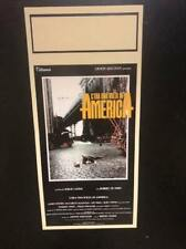 C'era una volta in America locandina 33x70 ristampa digitale tiratura limitata